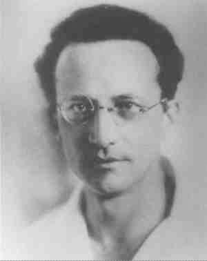 Objects and the objectification of sensation were analyzed by Erwin Schrödinger, pictured here around 1915.
