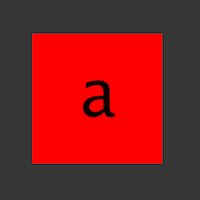 The phase of a southern quark is indicated by the dark border of this icon.
