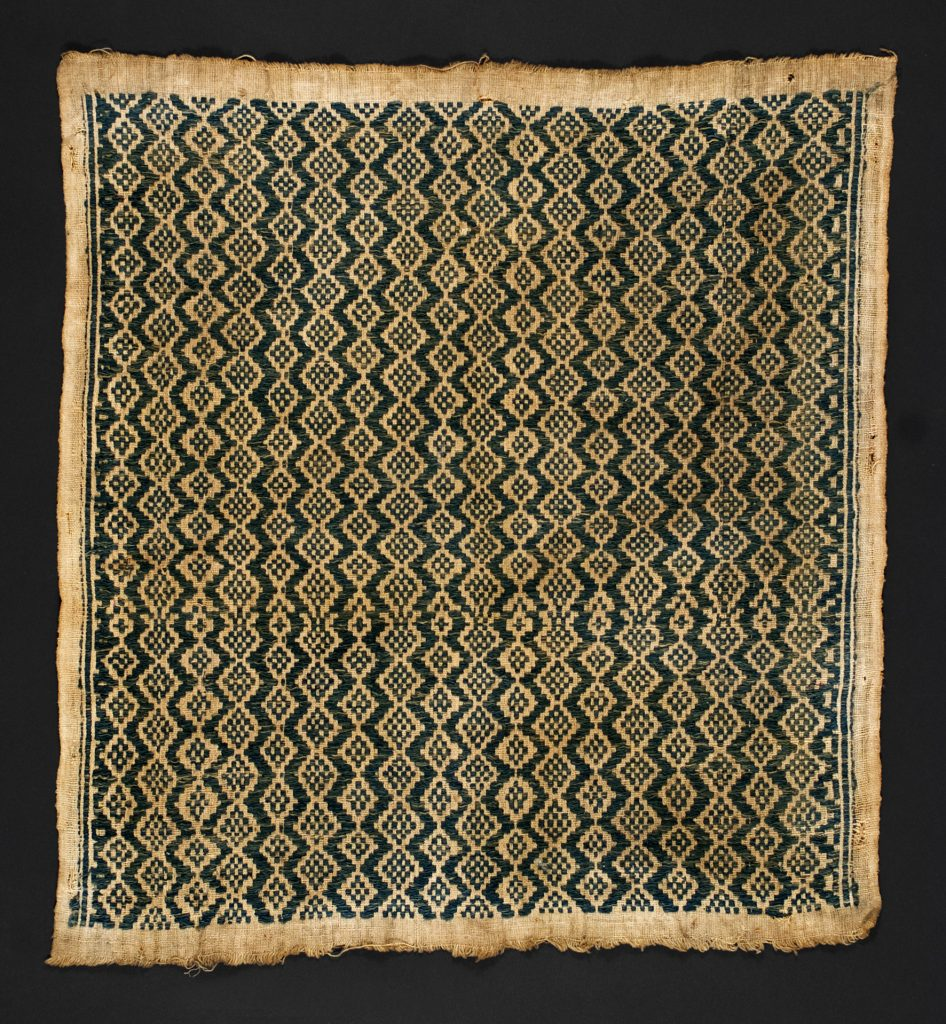 Phase relationships are suggested by this ritual textile from Indonesia.